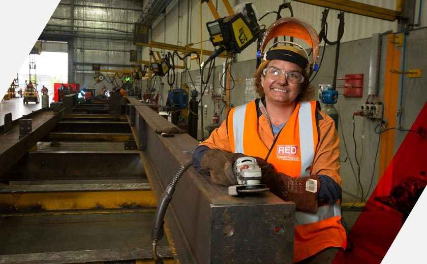 Labour hire company recruitment - female contract worker